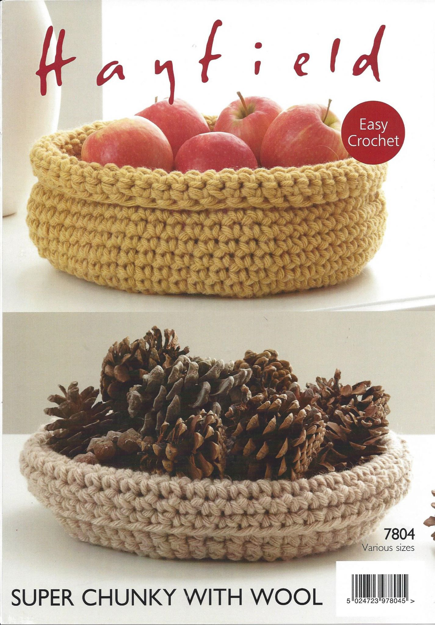Super chunky with wool 7804 cat nest storage baskets crochet hayfield super chunky with wool 7804 cat nest storage baskets crochet pattern bankloansurffo Choice Image